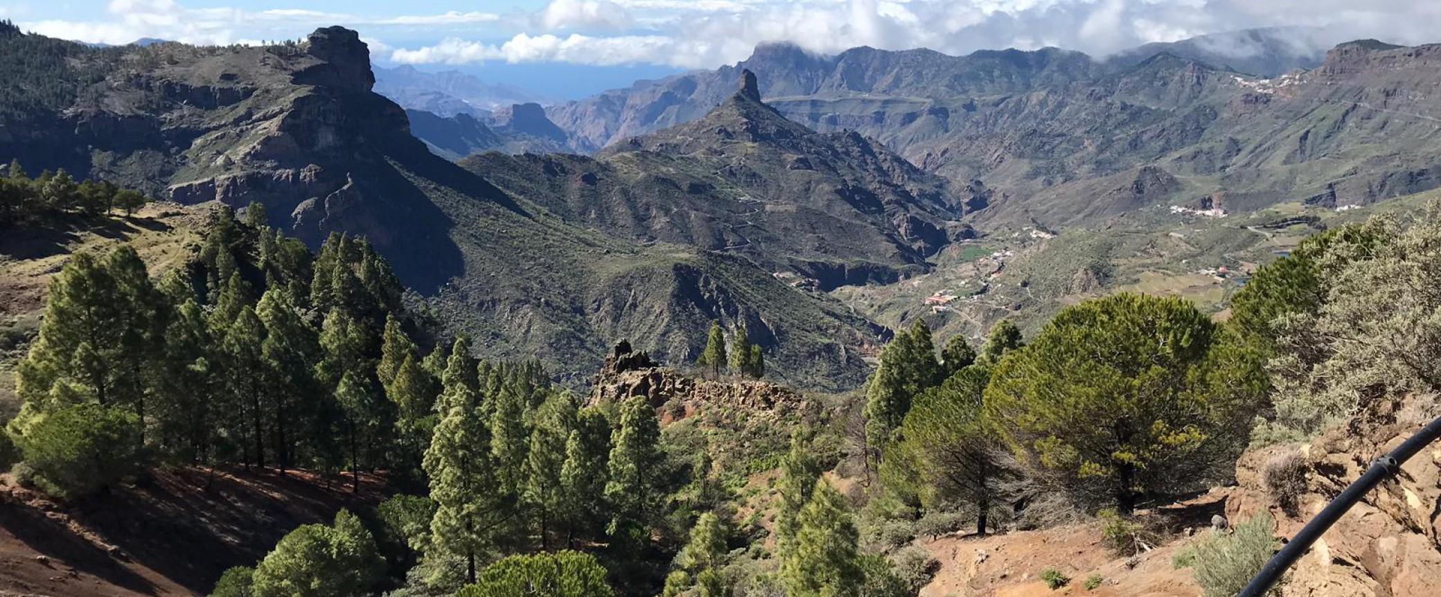 hiking gran canaria